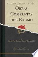 libro Obras Completas Del Excmo (classic Reprint)