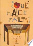 Descargar el libro libro ¿qué Hace Falta?