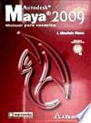 libro Autodesk Maya 2009  Manual Para Usuarios
