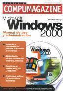 libro Microsoft Windows 2000 Manual De Uso Y Administracion