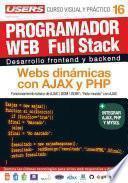 libro Programacion Web Full Stack16   Webs Dinámicas Con Ajax Y Php