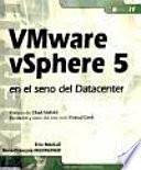 Descargar el libro libro Vmware Vsphere 5 En El Seno Del Datacenter