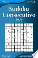 libro Sudoku Consecutivo   Experto   Volumen 5   276 Puzzles