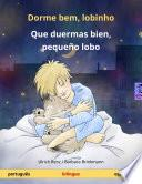Descargar el libro libro Dorme Bem, Lobinho – Que Duermas Bien, Pequeño Lobo (português – Espanhol)