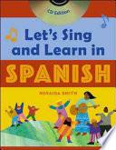libro Let S Sing And Learn In Spanish (book + Audio Cd)