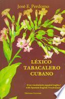 libro Lexico Tabacalero Cubano