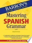 libro Mastering Spanish Grammar