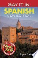 Descargar el libro libro Say It In Spanish