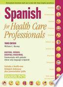 Descargar el libro libro Spanish For Health Care Professionals