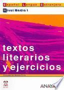 Descargar el libro libro Textos Literarios Y Ejercicios. Nivel Medio I