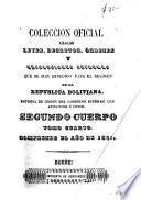 Descargar el libro libro Colección Oficial De Leyes, Decretos, Ordenes, Resoluciones&c. Que Se Han Expedido Para El Regimen De La Republica Boliviana
