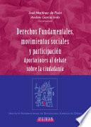 Descargar el libro libro Derechos Funadamentales, Movimientos Sociales Y Participación.