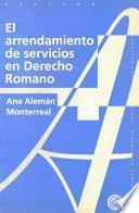 Descargar el libro libro El Arrendamiento De Servicios En Derecho Romano