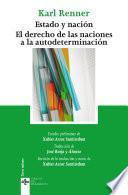 Descargar el libro libro Estado Y Nación. El Derecho De Las Naciones A La Autodeterminación