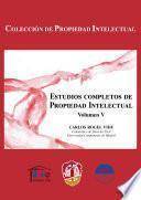 libro Estudios Completos De Propiedad Intelectual