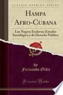 Descargar el libro libro Hampa Afro Cubana