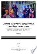 Descargar el libro libro La Parte General Del Derecho Civil Tomo Ii