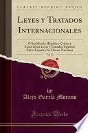 libro Leyes Y Tratados Internacionales, Vol. 13