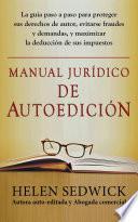 libro Manual JurÍdico De AutoediciÓn