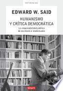 libro Humanismo Y Crítica Democrática