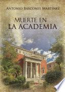 libro Muerte En La Academia
