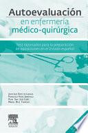 Descargar el libro libro Autoevaluación En Enfermería Médico Quirúrgica