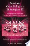Descargar el libro libro Nutrición Cronobiológica Y Bioenergética Iii