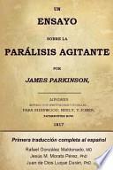 libro Un Ensayo Sobre La Parálisis Agitante