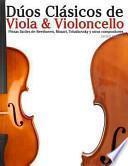 libro Dúos Clásicos De Viola And Violoncello