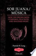 libro Sor Juana/música