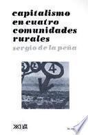libro Capitalismo En Cuatro Comunidades Rurales