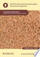 Descargar el libro libro Fabricación De Granulados De Corcho En Plancha. Mama0109