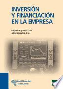 libro Inversión Y Financiación En La Empresa
