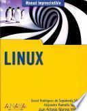 libro Manual Imprescindible De Linux / Linux Essential Manual