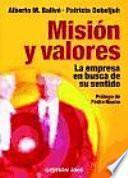 Descargar el libro libro Misión Y Valores
