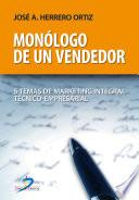 Descargar el libro libro Monólogo De Un Vendedor