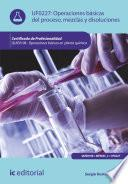 libro Operaciones Básicas Del Proceso, Mezclas Y Disoluciones. Quie0108