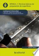 Descargar el libro libro Técnicas Básicas De Preparación De Superficies. Tmvl0109