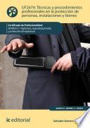 Descargar el libro libro Técnicas Y Procedimientos Profesionales En La Protección De Personas, Instalaciones Y Bienes. Sead0212