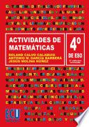 Descargar el libro libro Actividades De Matemáticas. 4o Eso
