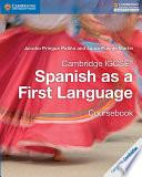 Descargar el libro libro Cambridge Igcse® Spanish As A First Language Coursebook