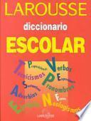 Descargar el libro libro Diccionario Escolar