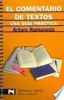 Descargar el libro libro El Comentario De Textos