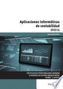 libro Uf0516   Aplicaciones Informáticas De Contabilidad