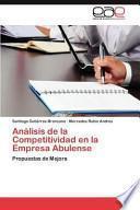 libro Análisis De La Competitividad En La Empresa Abulense
