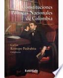 libro Constituciones Politicas Nacionales De Colombia