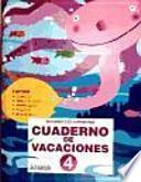 libro Cuaderno De Vacaciones 4.