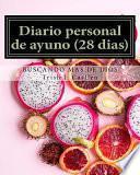 libro Diario Personal De Ayuno