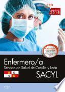 libro Enfermero/a. Servicio De Salud De Castilla Y León (sacyl). Test