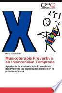 libro Musicoterapia Preventiva En Intervención Temprana